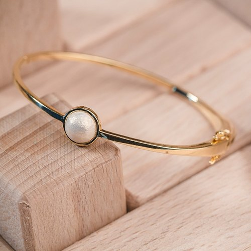 Cotton pearl bracelet - Endless