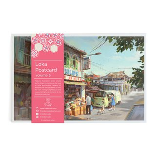 Fantascene Postcard Set By FeiGiap :Vol.5 (set of 8)