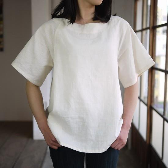 Ethical Hemp Boat Neck Blouse