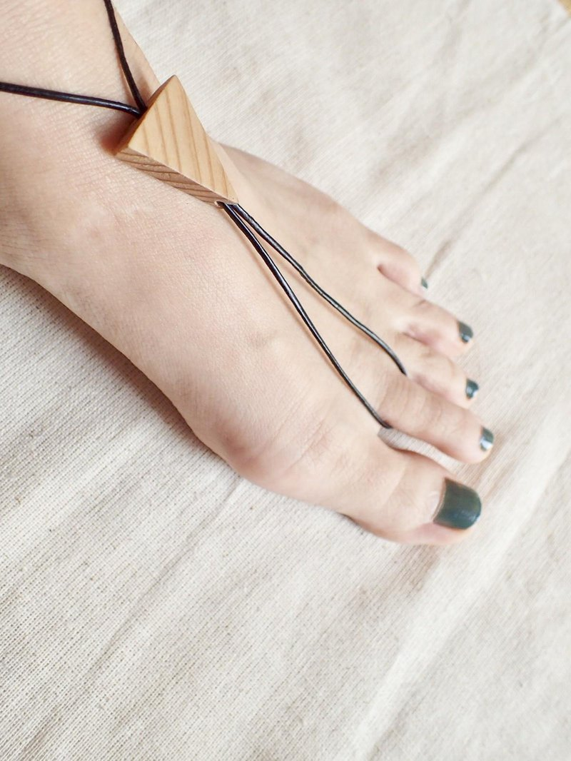 triangle Barefoot sandals (unisex)