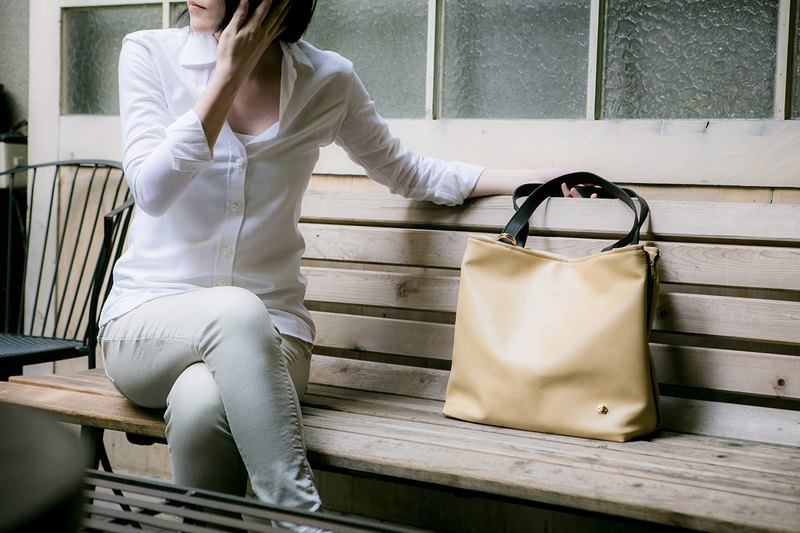 CLM Ring Tote-Cloud White