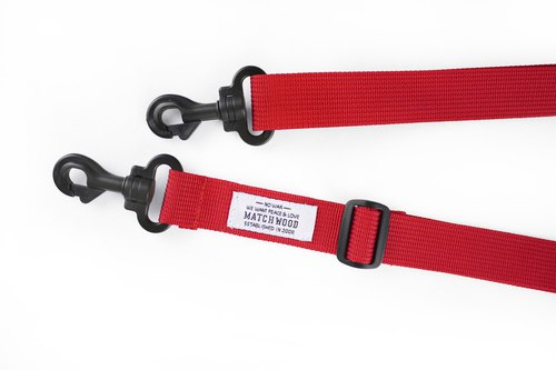Matchwood Design Matchwood Adjustable Shoulder Strap Red