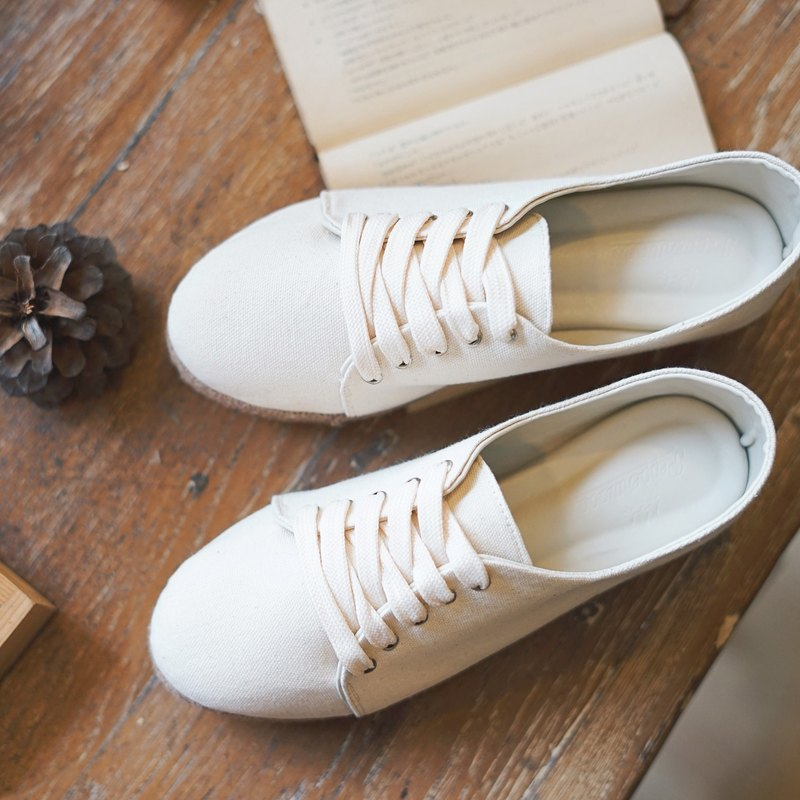 The Pepperwood Canvas Sneaker (White)
