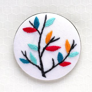 Tree branch  - Embroidery Brooch Kit