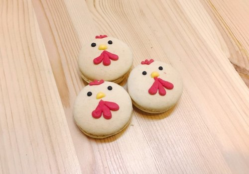 Meng Meng da chick styling macarons (3 / group) by AnStudio