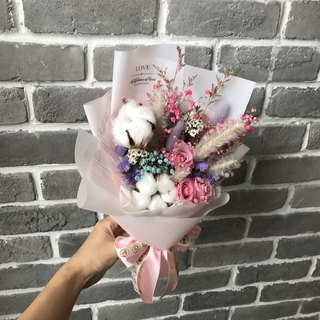璎 Luo manor*wedding objects*non-withered flower. Eternal flower / Starry Star Bouquets / G96 / Valentine's Day bouquet / immortality flower bouquet / gift bouquet / dried flowers / Valentine's Day gift / bouquet