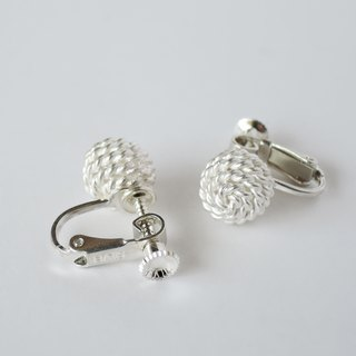ki-ichi earrings = silver 950 ear-clips =