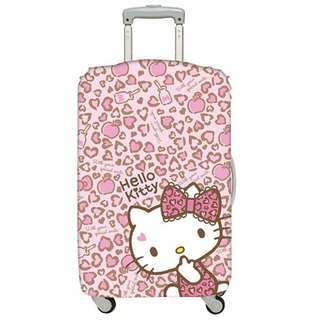 LOQI luggage jacket │Hello Kitty leopard L number