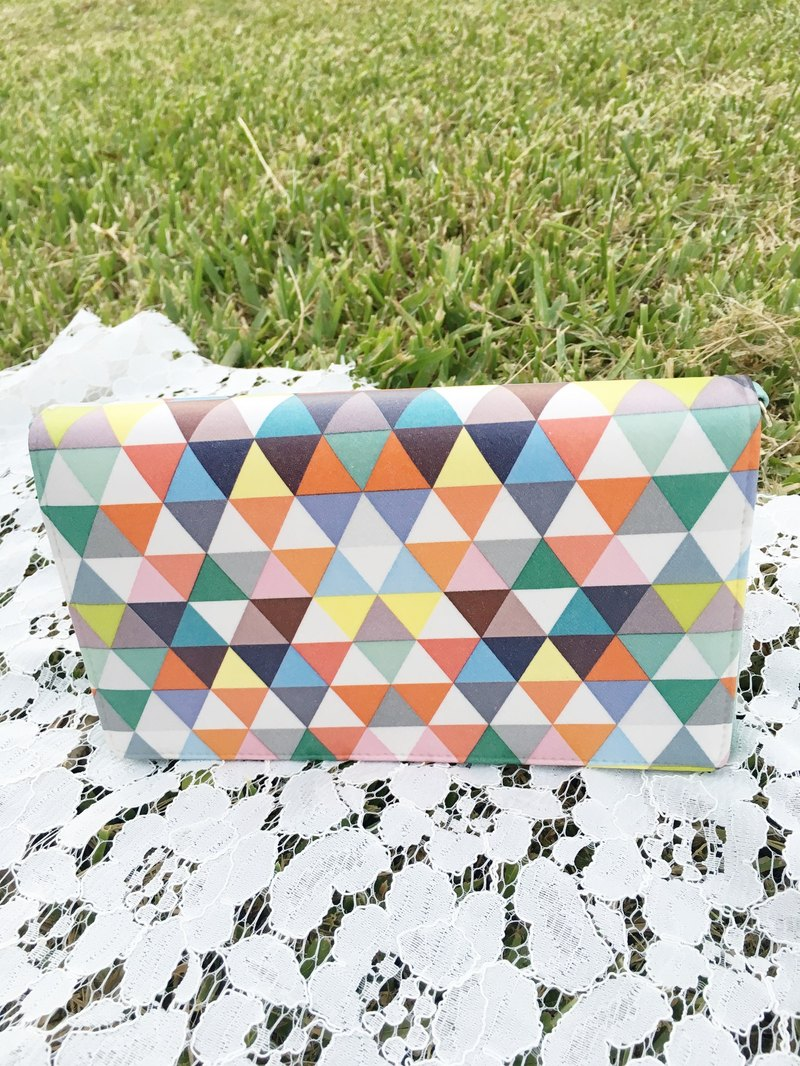 Handmade Gifts color triangular dorsal easily portable / hand dual-use package