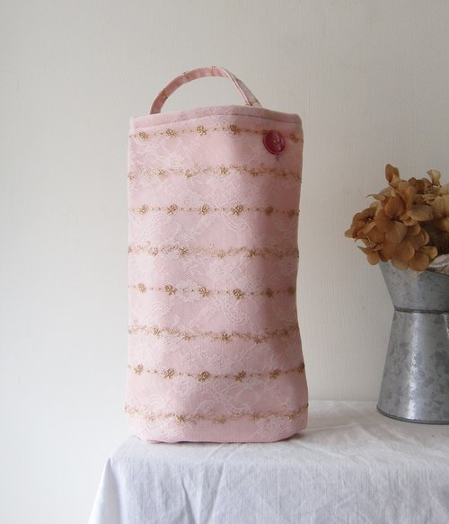 Embroidered  Lace Watering Can Bag