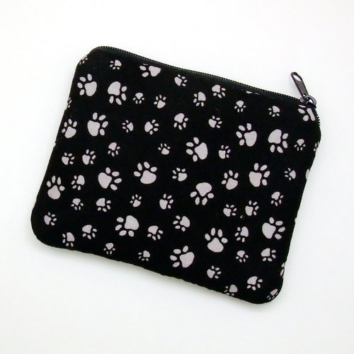 Zipper pouch / coin purse (padded) (ZS-243)