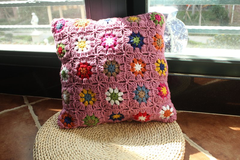 Garden bed pillow pillow backrest cushion plush line by bag purple princess pillow