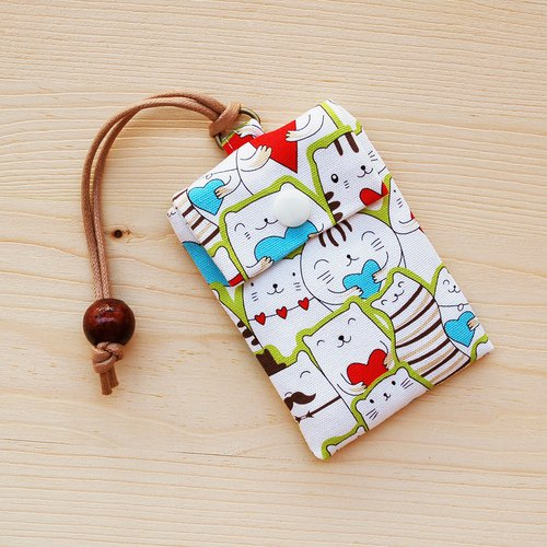 Love cat card bag card bag card card bag