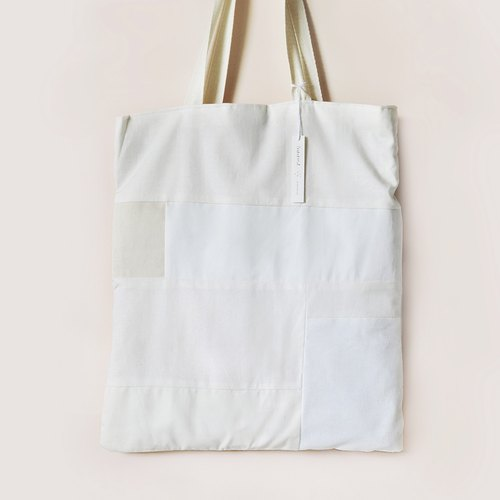 Patchy Reversible Tote Bag