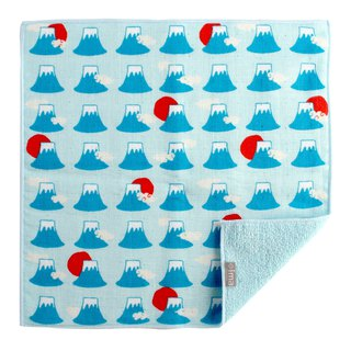 Japan Made + ima WAFUK Design, Soft, Cute & Unique Handkerchief towel - Mt. Fuji