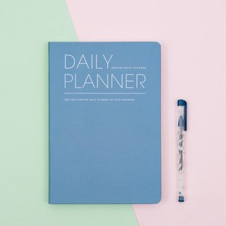 2018 ARDIUM DAILY PLANNER Calendar (Calendar) - Blue sea water