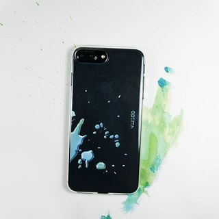 Optima iPhone 8/7 Plus TPU thin protective case splash green