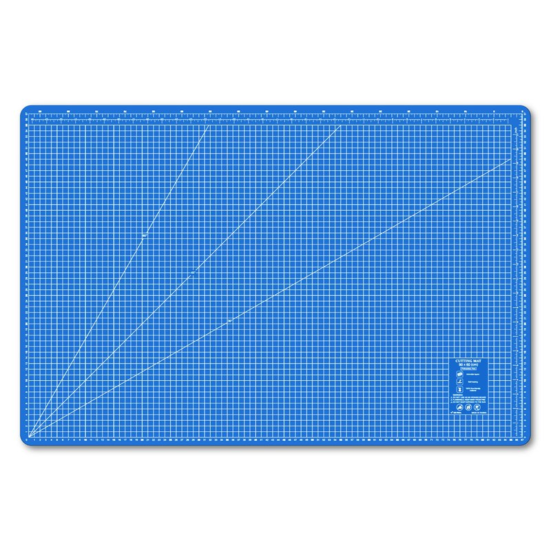 A1 blue custom environmental cutting board student table mat office stationery school office design gift gift