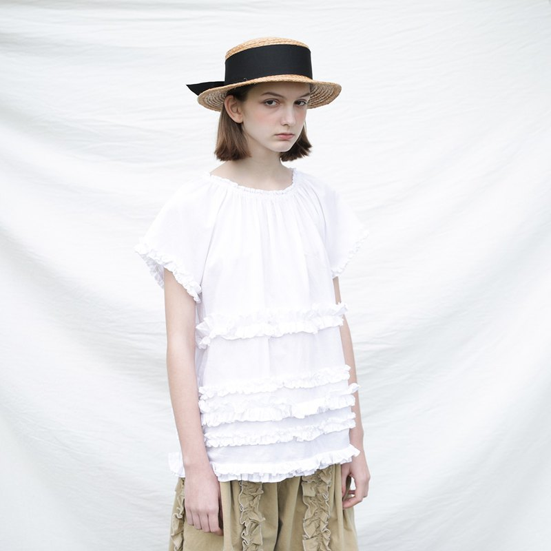 White lace summer dress - imakokoni
