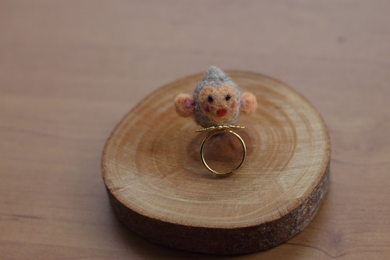 Monkey adorable ring only this one currently available direct from stock index