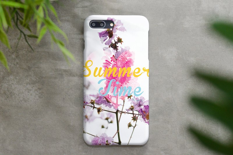 59-5 summer time iphone case for iphone 6,7,8, plus iphone xs, iphone xs max