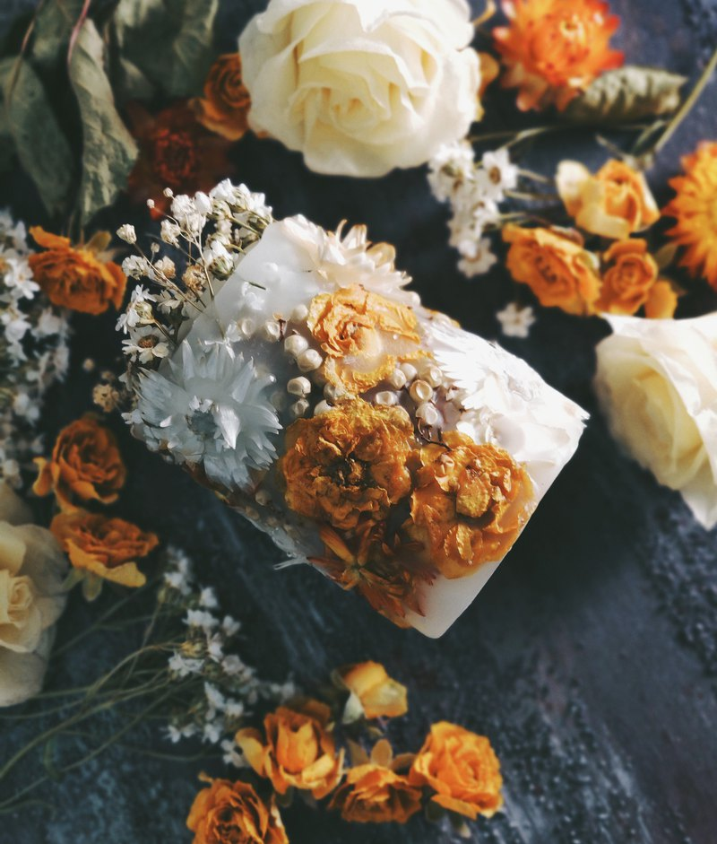 Full Dry Flower Candle + Dry Flower Scent Wax Handmade Course / Experience Lesson