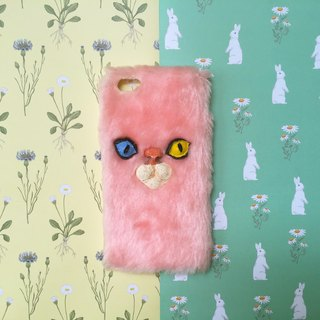 cat pink phone case