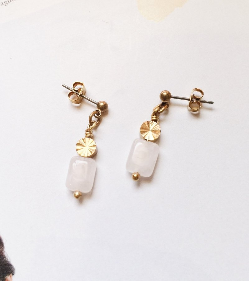 La Don - Earrings - Crystalline ear pin / ear clip