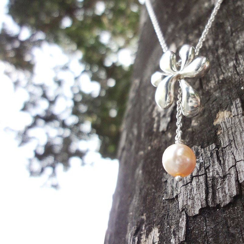 Dream Garden Series Bloom - Silver Necklace