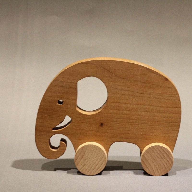 Elephant wheel toy