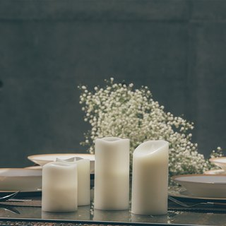 Basic White LED Candle