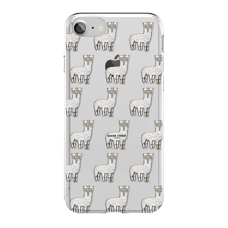 British Fashion Brand -Baker Street- iPhone Case - Two-headed Alpaca