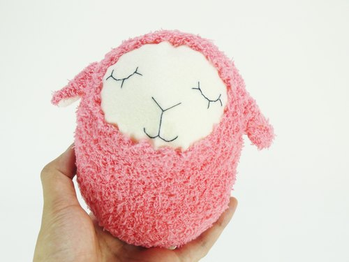 Cute Chubby Dolls- Peach Sheep