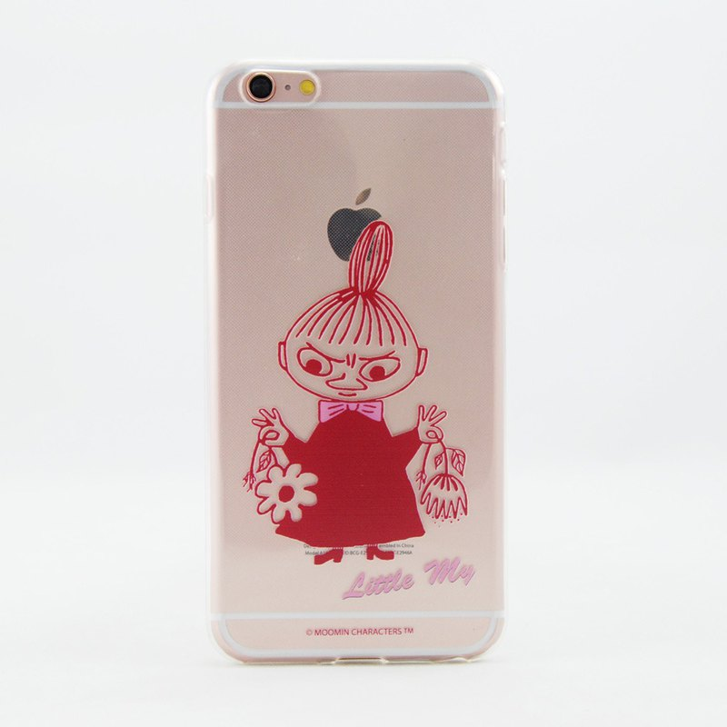 Moomin license - [Little my] -TPU phone shell <iPhone/Samsung/HTC/ASUS/Sony/LG/小米> AE59