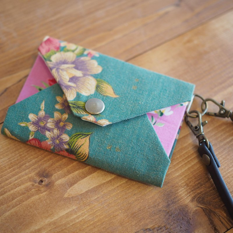 Taiwan flower cloth periodic entry, pass case, card case, SIM card case 【Order production】