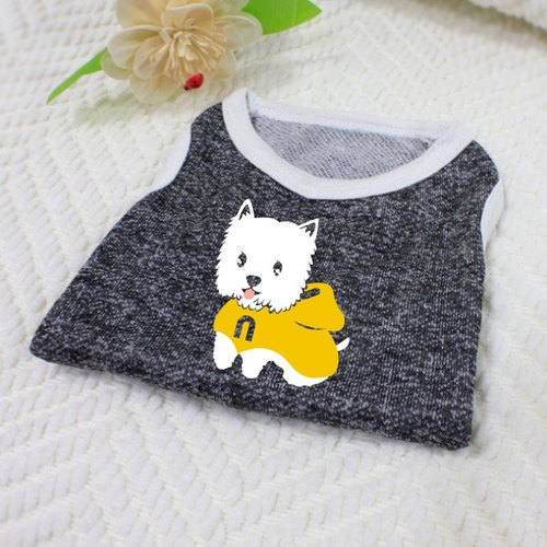 [Hairy child name customized models] West Highland White Terrier West Highland White Terrier reflective vests (hairy child paragraph)