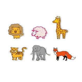 Waterproof sticker - African savanna