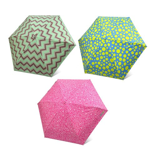 [Taiwan's Cultural Rain's talk] Anti-summer turn playing geometric anti-UV fold umbrella hand