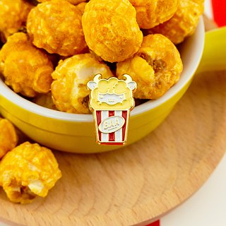 Popcorn Sheep Enamel Pin