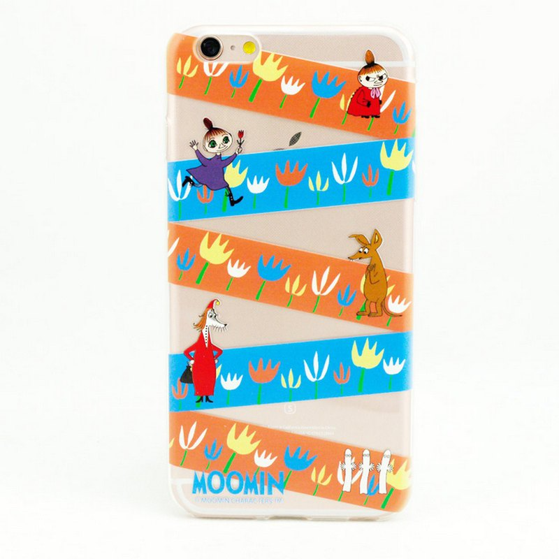 Moomin audible license - [rainbow tape] -TPU phone shell <iPhone/Samsung/HTC/ASUS/Sony/小米> AE70