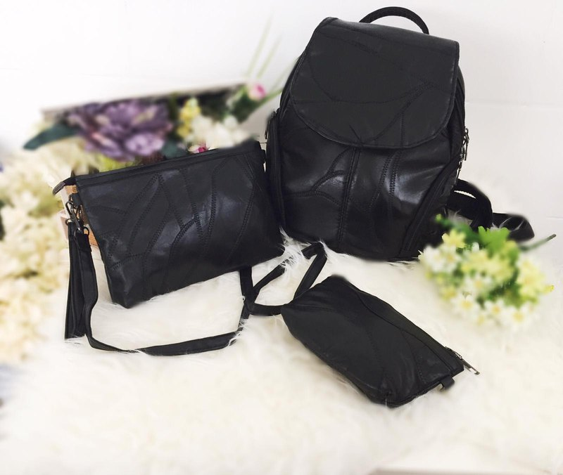 Fashion European and American leather suit bag #B9C707