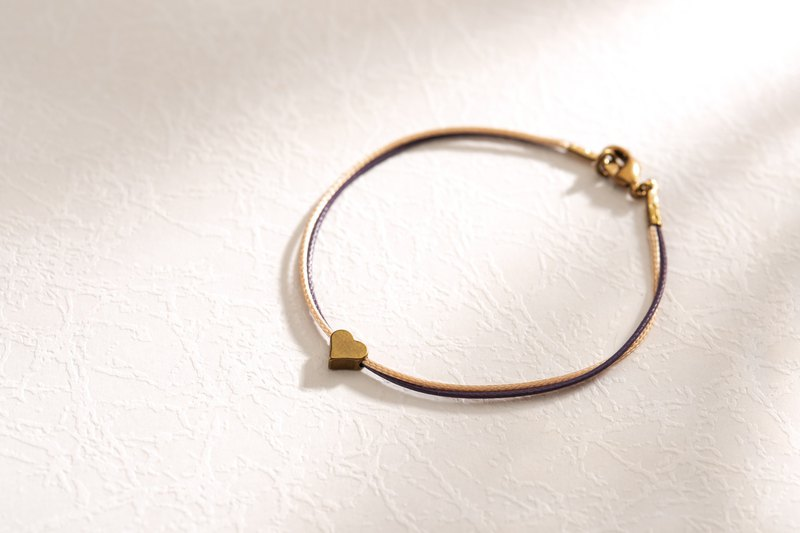 Charlene-traction bracelet two-color models - Jewelry size is only S, this page S + temperament gold + dark purple thin line, number MYM32