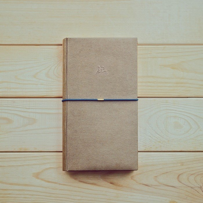 KEEP A NOTEBOOK Write a note CKN-004A A5 Slim DIY multi-function paper clothing _ color leather