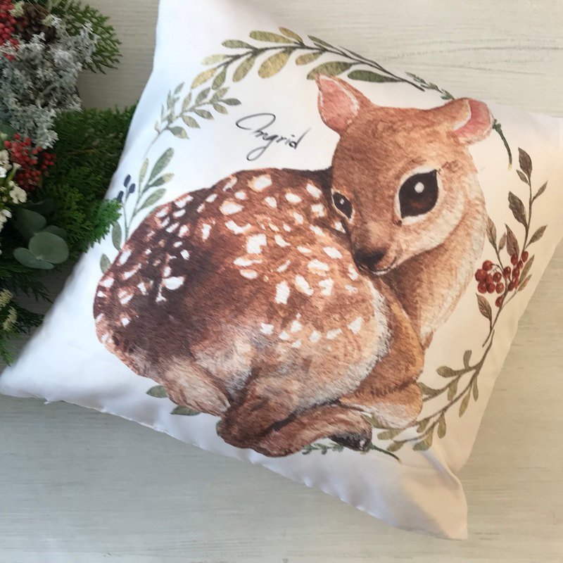 Forest Department Pillow - Simple Deer