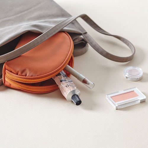 ithinkso- Shell four-color Cosmetic Pouch bag HALF MAKE-UP POUCH