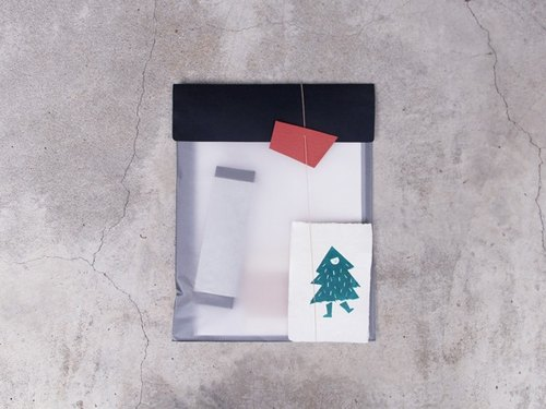 Christmas Limited // Writing temperature paper material package