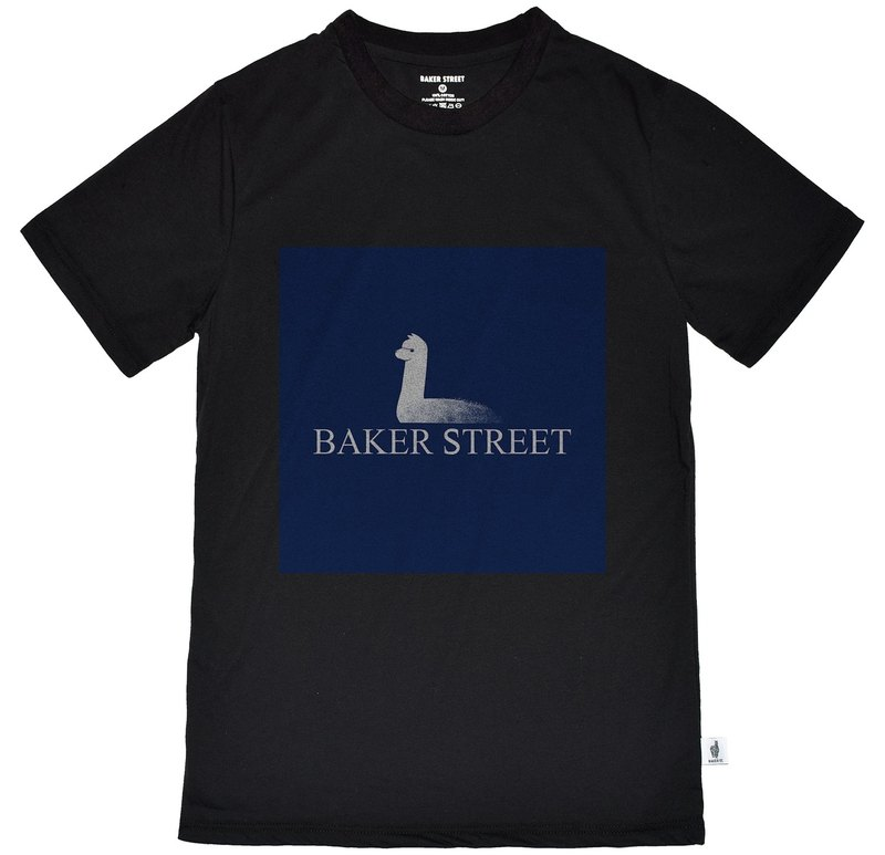 British Fashion Brand [Baker Street] Is Not a Swan Printed T-shirt