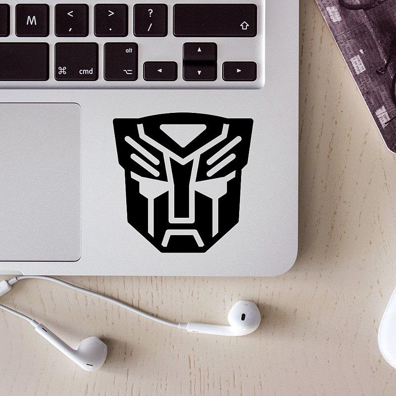 Transformers and BoPay-Cardian West German Sticker _ Suitable for stickers on laptops, mobile phones, motorcycles, etc.