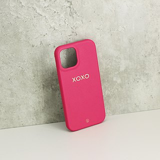 Customized Multicolor Leather Lambskin Series Macaron Dream Color 24 Color Pink iPhone Case