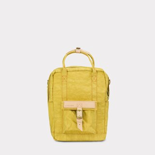 【 ZeZe Bag Small】DYDASH x 3way hand bag/shoulder bag/backpack/(Small Pear Mustard)